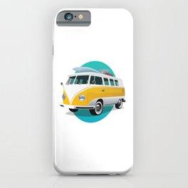 Summer Bus iPhone Case