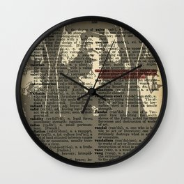 What We Do in the Shadows (Dictionary Page) Wall Clock