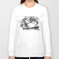 circus Long Sleeve T-shirts featuring Circus by Ivanushka Tzepesh