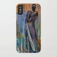 ninja iPhone & iPod Cases featuring Ninja by Michael Creese