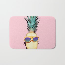 Cool Pineapple Bath Mat