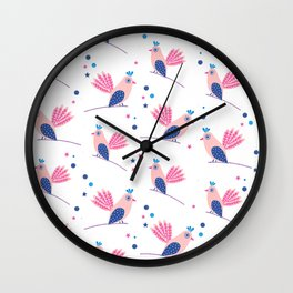 Lili birds Wall Clock