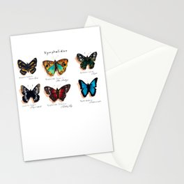 Nymphalidae butterflies Stationery Cards
