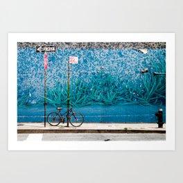 Grassy Wall Art Print