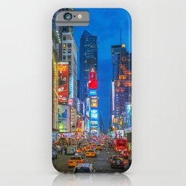 Times Square (Broadway) iPhone Case