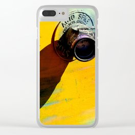 Tagged You're It Clear iPhone Case