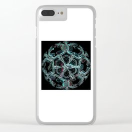 Caribbean in the Snow Clear iPhone Case