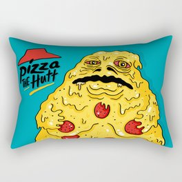 Pizza The Hutt Rectangular Pillow
