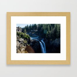 Snoqualmie Falls Framed Art Print