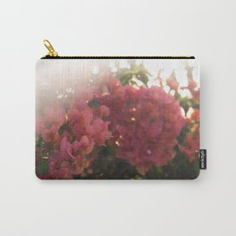 Dreamy Tropical Flowers Carry-All Pouch