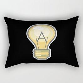 Atheism Logo Rectangular Pillow