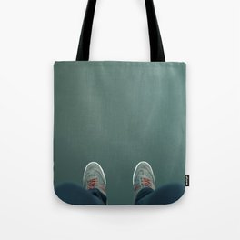 The green abyss Tote Bag