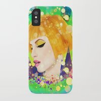 hayley williams iPhone & iPod Cases featuring Digital Painting - Hayley Williams - Variation by EmmaNixon92