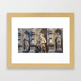 Moisés Framed Art Print