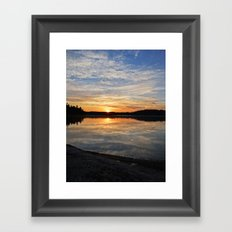 Minnesota Sunrise Framed Art Print