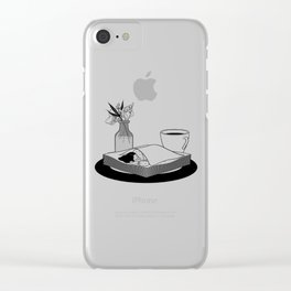 Nap Queen Clear iPhone Case