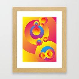 Cosmogony #06 Framed Art Print