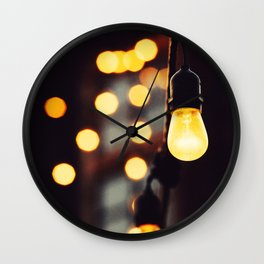 Light up Wall Clock