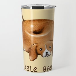 Beagle Bagel Travel Mug