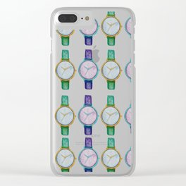 Catch your time Clear iPhone Case