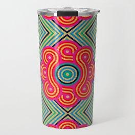 Cosmic Vibrations Within Travel Mug