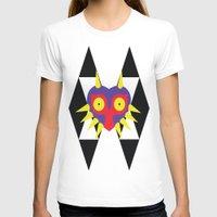 majora T-shirts featuring Minimalist Majora by Bradley Bailey