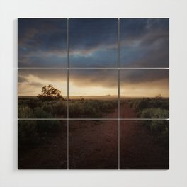 New Mexico Sunset Wood Wall Art