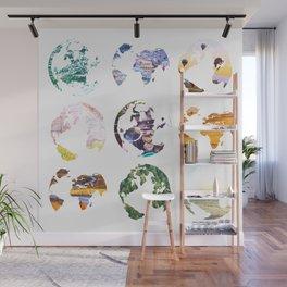 Globes Wall Mural