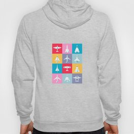 Classic Iconic Aircraft Pattern Hoody