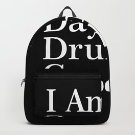 day drunk Backpack