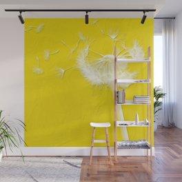 Freesia Yellow Dandelion Wall Mural