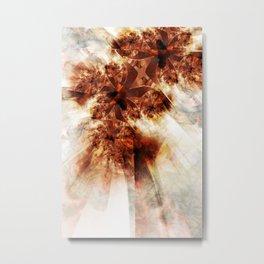 Autumn's Aglow Metal Print