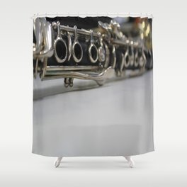 lalala Shower Curtain