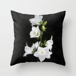 White bell Throw Pillow