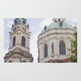 Church in Prague Rug