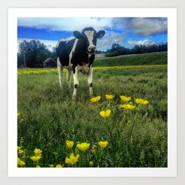 Buttercup Milkshake Art Print