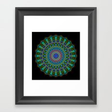 Snowflake #001 solid Framed Art Print