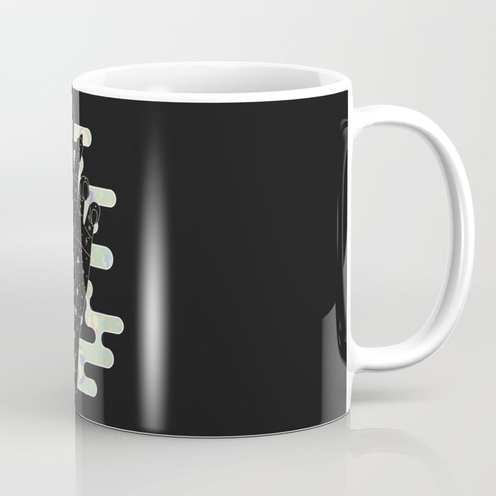Taurus - Zodiac Constellation Illustration Coffee Mug