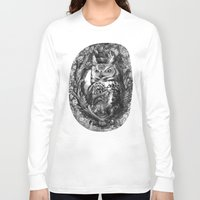 eric fan Long Sleeve T-shirts featuring Nightwatch - by Eric Fan and Garima Dhawan  by Eric Fan