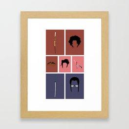 Samurai Champloo Framed Art Print