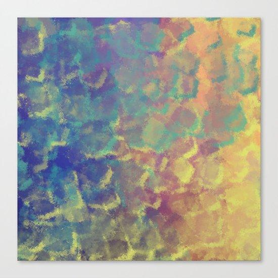 Watercolor Splash #4 #art #society6 Canvas Print