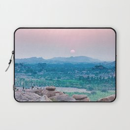 Sunset in the Lost World Laptop Sleeve