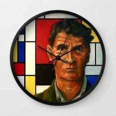 Ludwig Wittgenstein Wall Clock