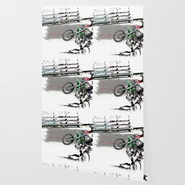Making a Stand - Freestyle Motocross Rider Wallpaper