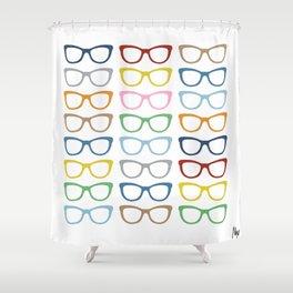 Glasses #3 Shower Curtain