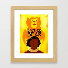 Brother Bear Framed Art Print