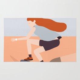 Skate Girl Series Rug