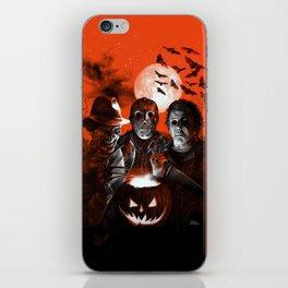 Freddy Krueger Jason Voorhees Michael Myers Super Villians Holiday iPhone Skin
