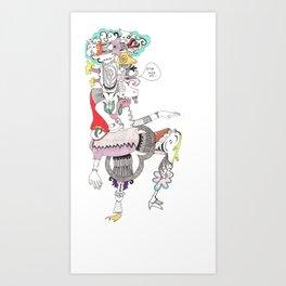 native tongue Art Print