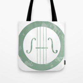 Violin Jade Tote Bag